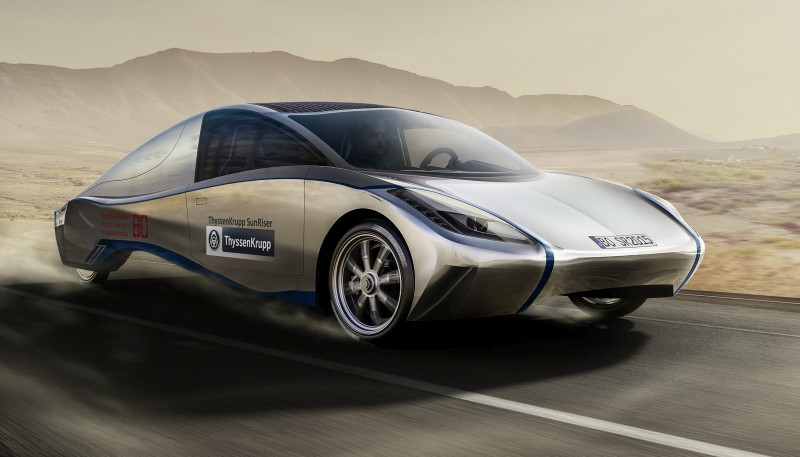 stahlbus supports SolarCar Sunriser Project