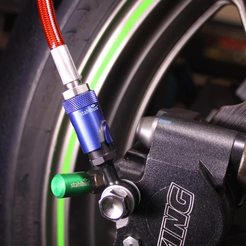 Soon bleeding brakes simply intelligent oil change